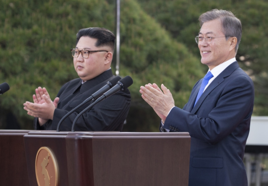 [2018 Inter-Korean summit] Koreas agree on 'practical steps' to restore cross-border railway