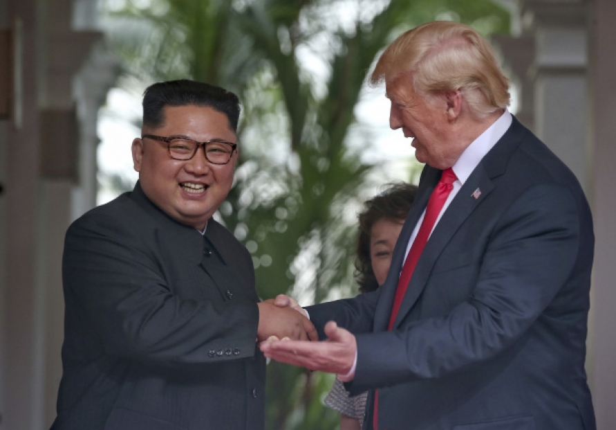 [US-NK Summit] Kim invites Trump to visit Pyongyang as North hails 'radical switchover'