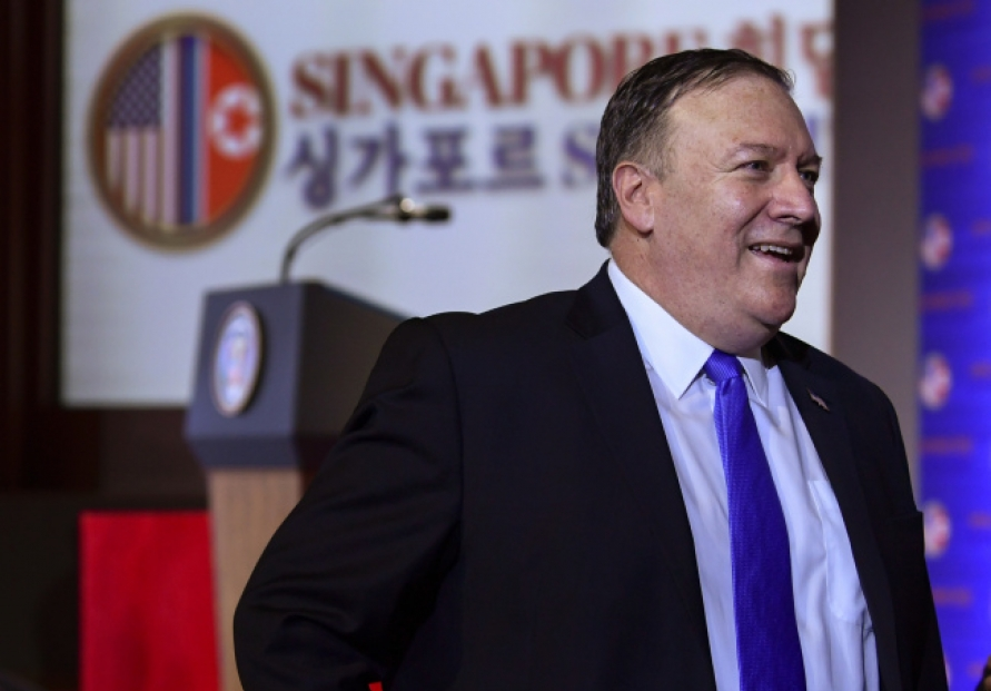 [US-NK Summit] Pompeo to brief Moon on outcome of US-N. Korea summit: official