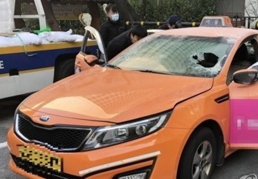 [Newsmaker] Korea cab driver burns himself to death in carpool protest