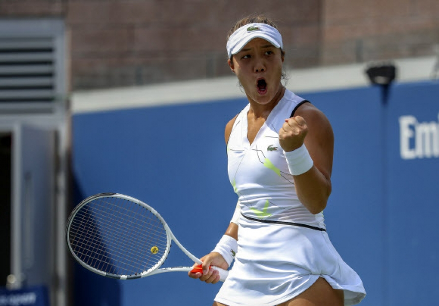 Korean-American tennis player feels on cusp of reaching next level