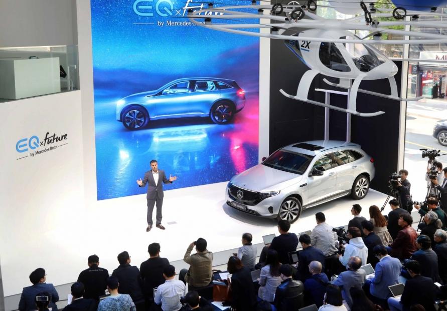 [Photo News] Mercedes-Benz's future mobility pavillion