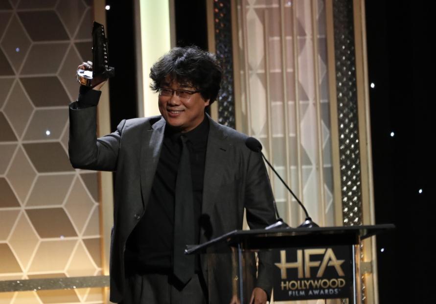 Bong Joon-ho wins at Hollywood Film Awards