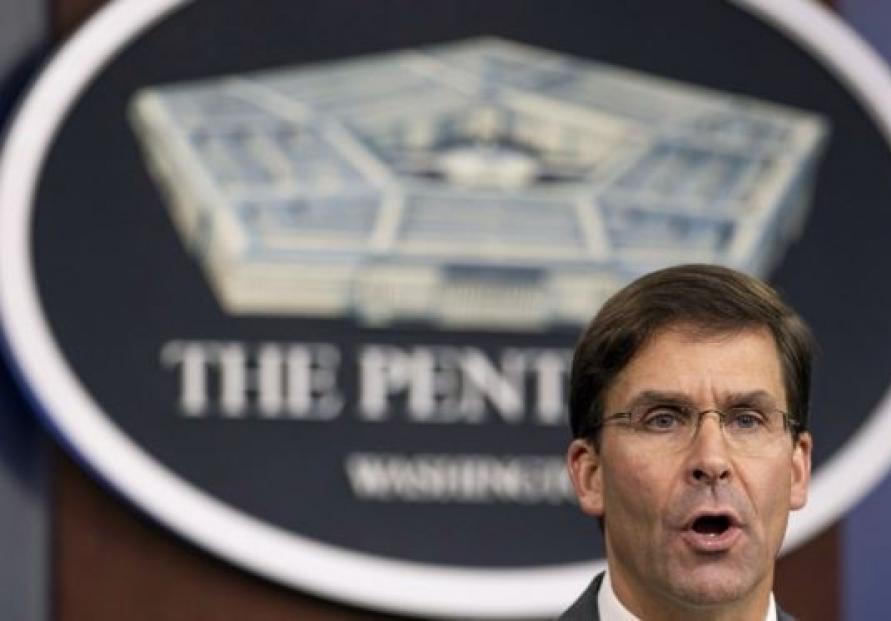 US Defense Secretary Esper to visit S. Korea next week