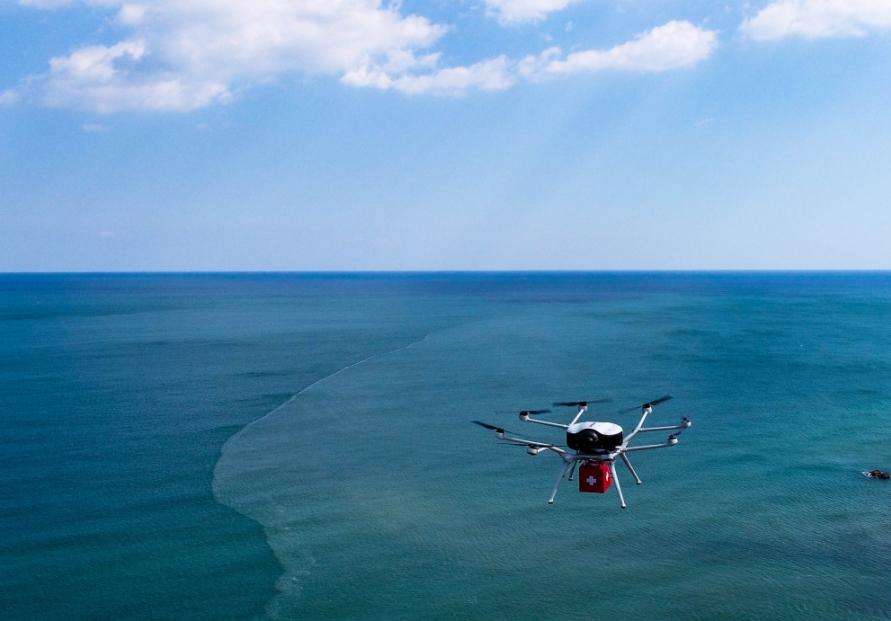 Doosan's hydrogen-powered drone wins CES awards