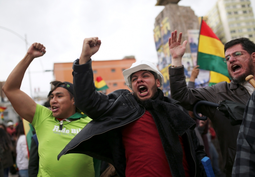 Bolivia's Morales resigns after losing backing of security forces