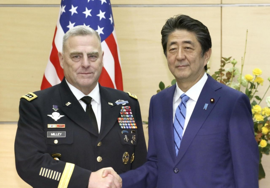 US military chief voices hope for resolution of Seoul-Tokyo intel-sharing pact
