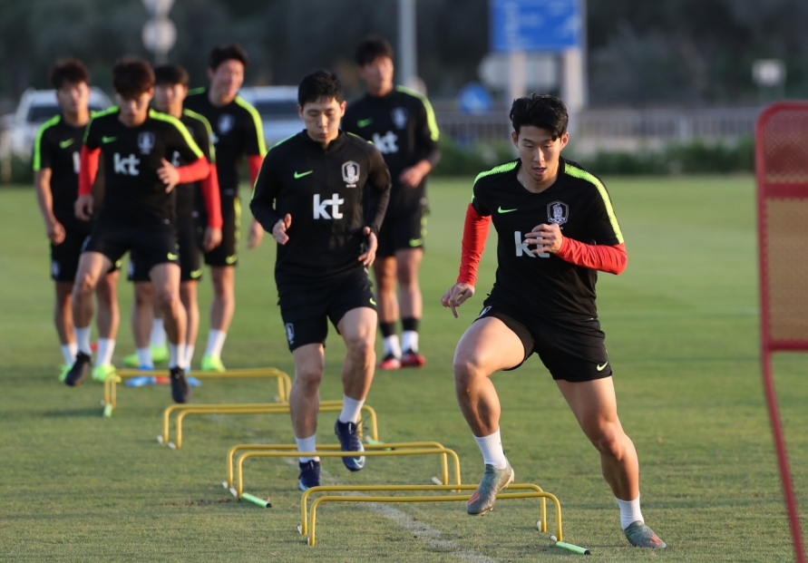 S. Korea looking to end World Cup qualifying for 2019 on winning note vs. Lebanon
