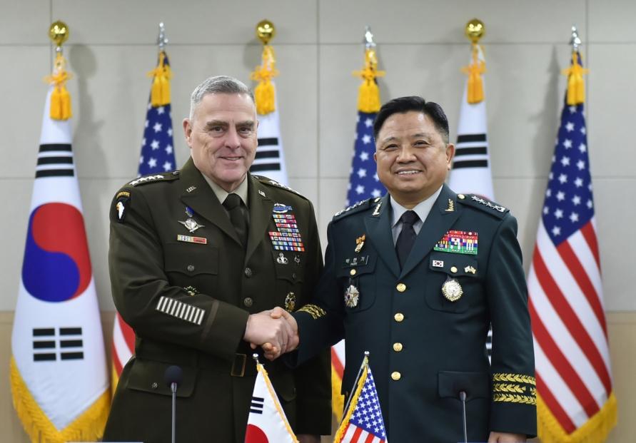 South Korea, US top military commanders discuss GSOMIA, OPCON transfer