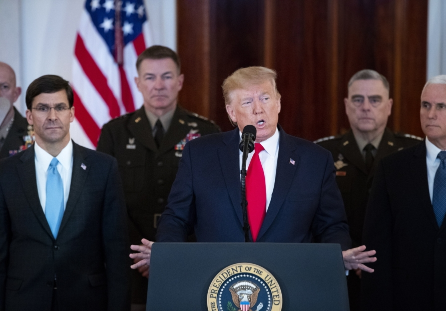 US House votes to curb Trump war power on Iran