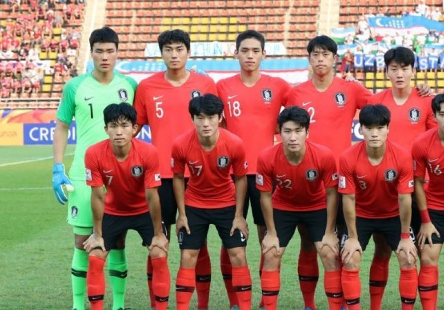 S. Korea defeat Jordan to move closer to Olympic men's football berth