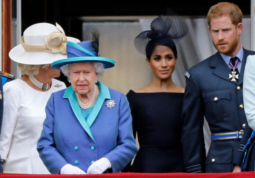 Britain's Prince Harry expresses 'great sadness' at royal split