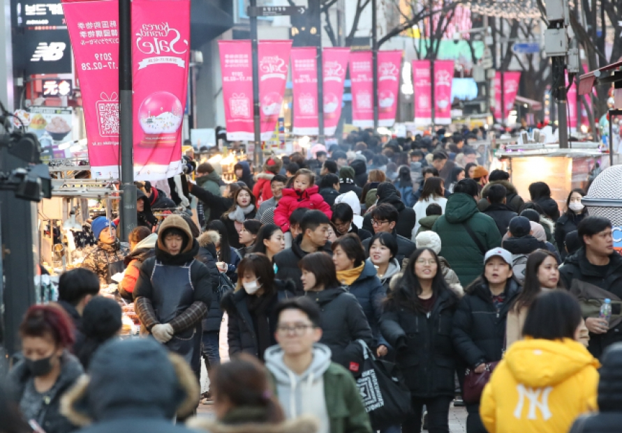 Myeong-dong rent costs drop amid fast shift to e-commerce