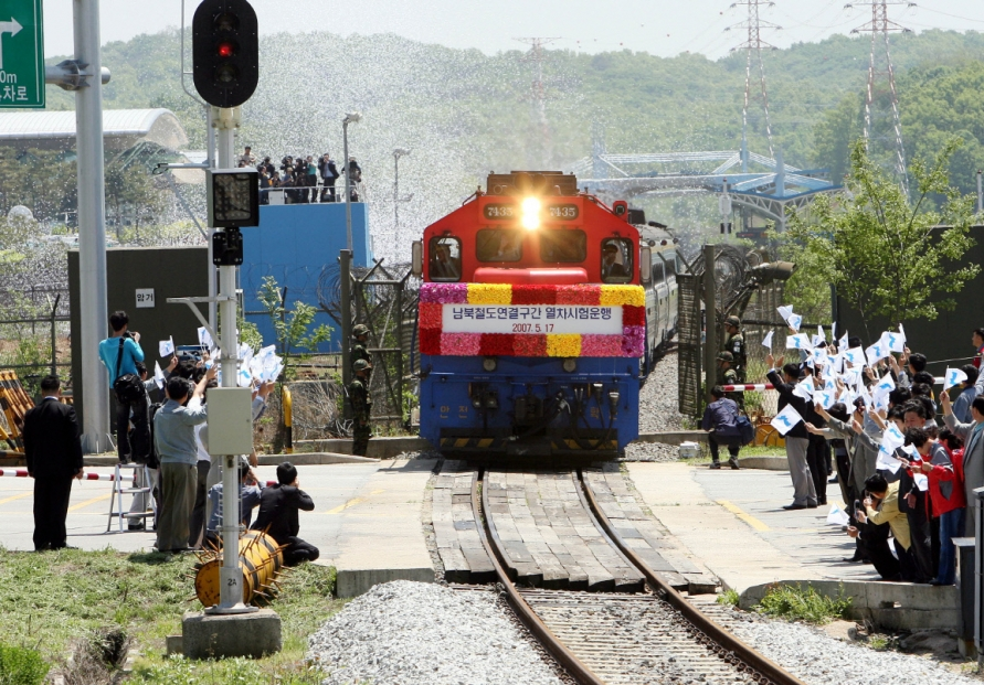 Seoul eyes rail project to engage NK