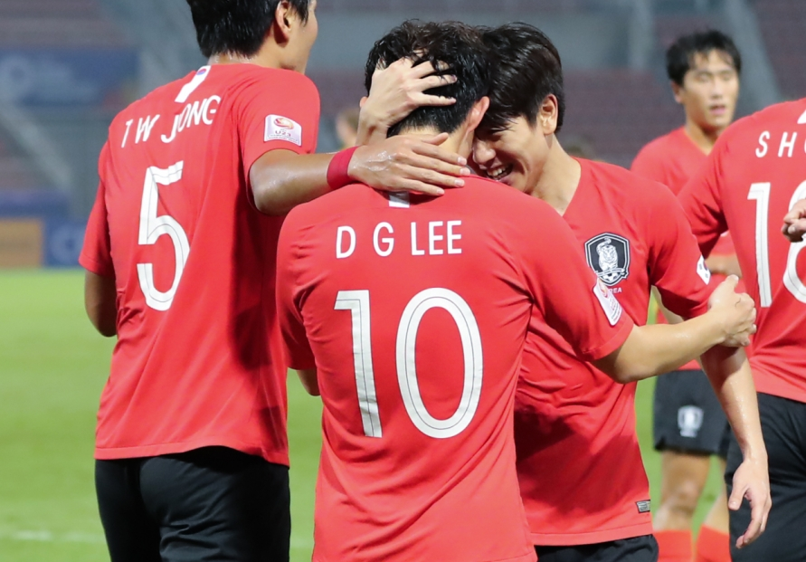 On cloud nine: S. Korea advance to 9th straight Olympic men's football tournament