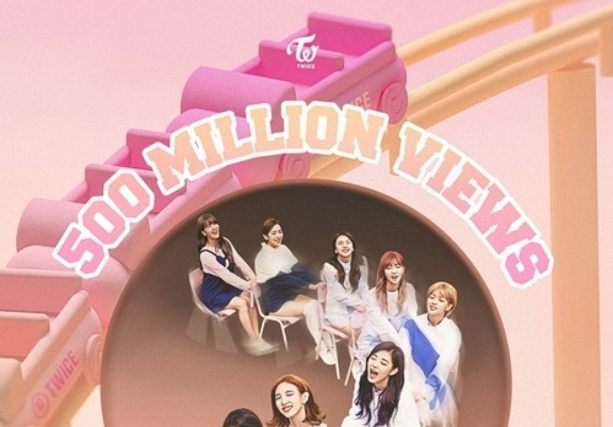 TWICE music video 'TT' hits 500m YouTube views