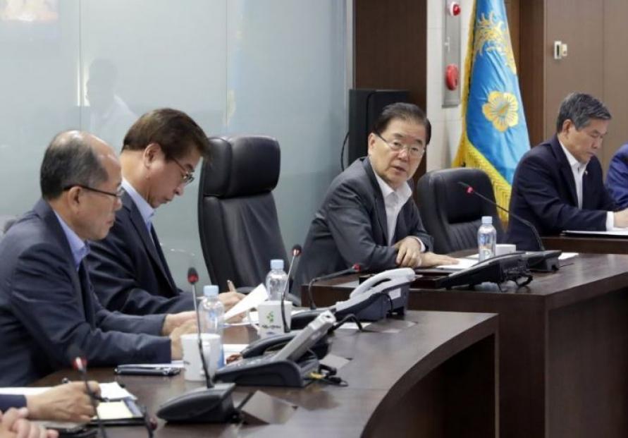 NSC members discuss follow-up measures to Hormuz troop dispatch decision: Cheong Wa Dae