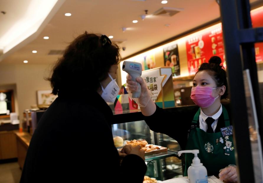 China virus toll reaches 1,765: govt.