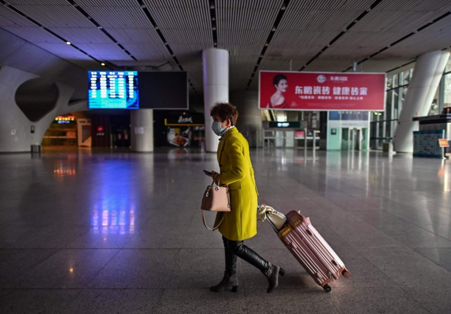 China virus epicentre eases travel restrictions after lockdown
