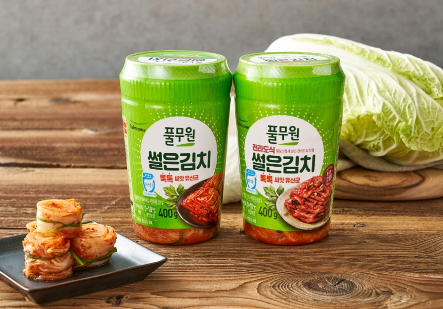 Pulmuone rolls out sliced kimchi packs for small households