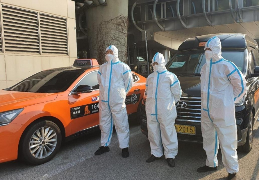Seoul city to run taxis for int'l arrivals to contain virus