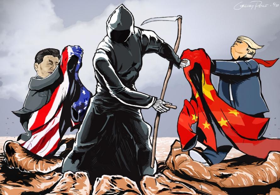 [Cartoon] The Pandemic Pals