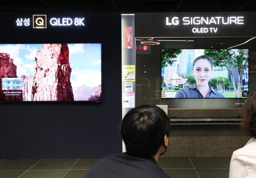 Samsung, LG withdraw mutual complaints over QLED TV ad