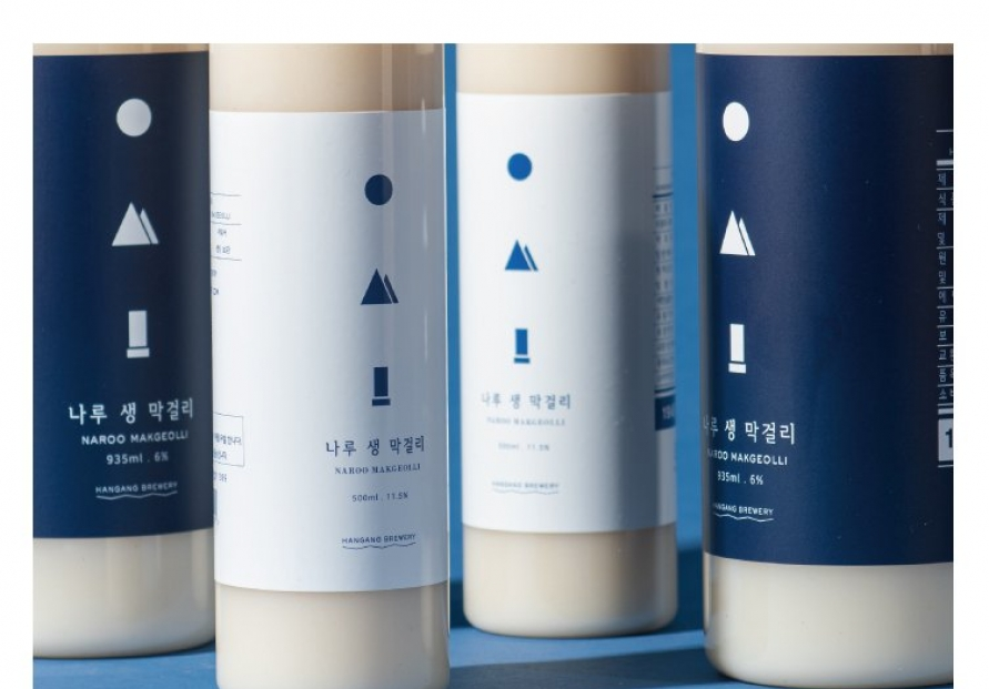 Just rice, water and yeast for this small-batch makgeolli