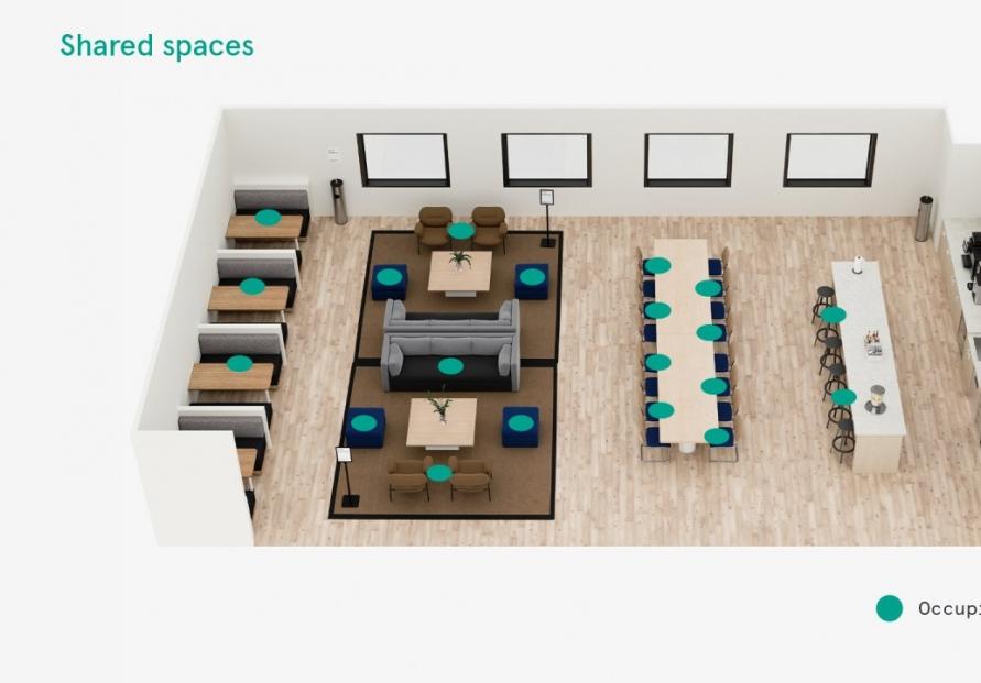 WeWork Korea modifies floor layouts for safety amid coronavirus crisis