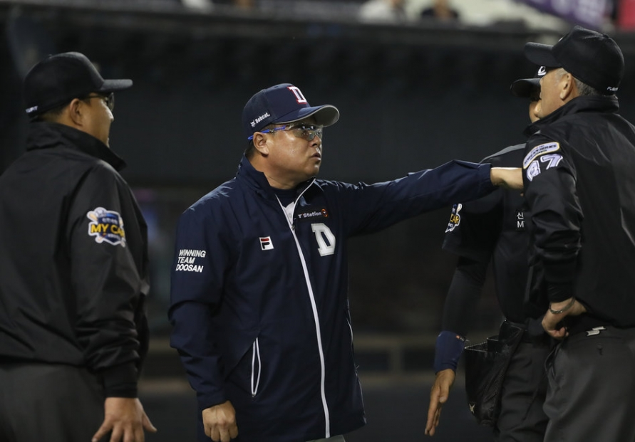 KBO manager wary of opposing lineup's explosive potential