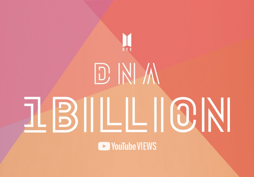 BTS' 'DNA' music video tops 1b YouTube views