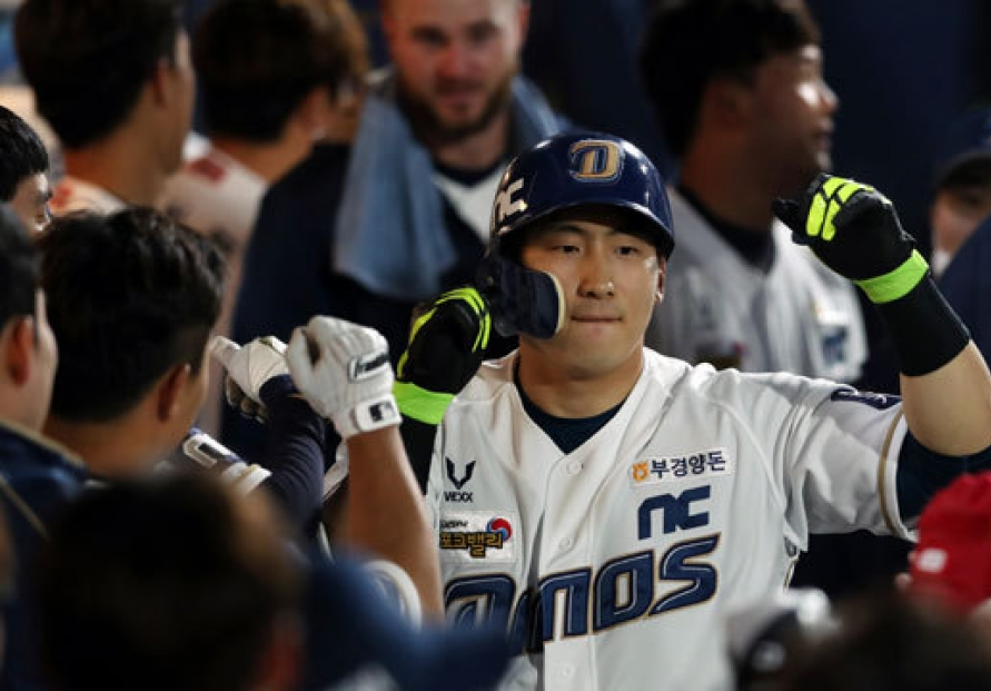 KBO slugger wishes fans were around to watch his 1st-place club