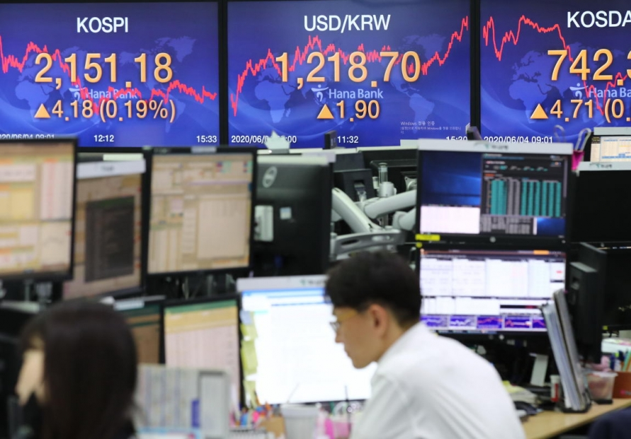 Seoul stocks hit over 100-day high amid recovery hopes