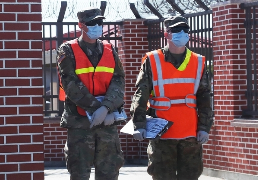 Two USFK coronavirus patients briefly released from quarantine due to administrative error