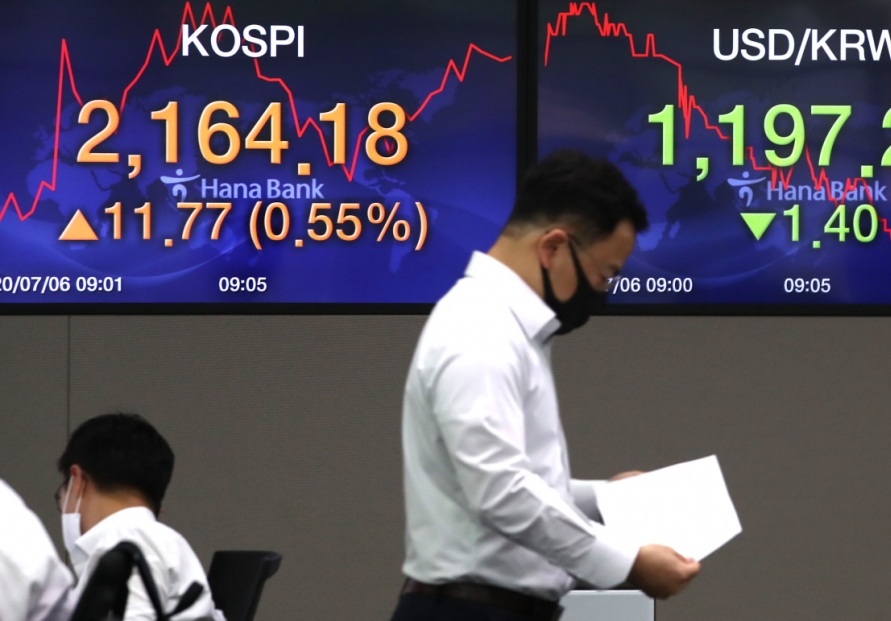 Seoul stocks open tad higher on parliamentary approval of 3rd extra budget
