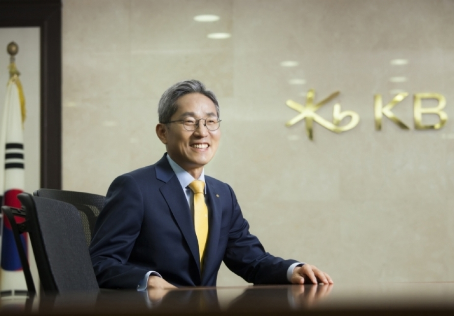 KB Financial chief to discuss post-COVID-19 measures