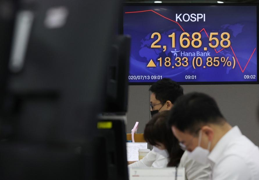 Seoul stocks open higher on stimulus hopes