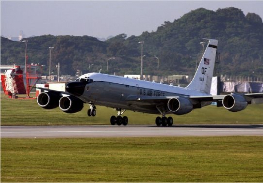 US sends surveillance plane to air base in Japan: aviation tracker