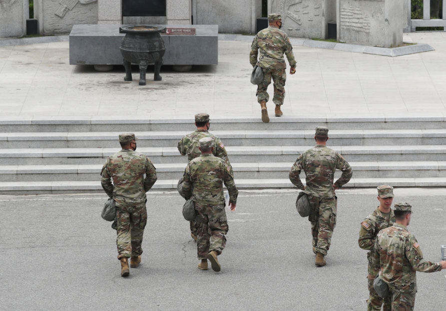 11 American soldiers newly assigned to S. Korea test positive for new coronavirus
