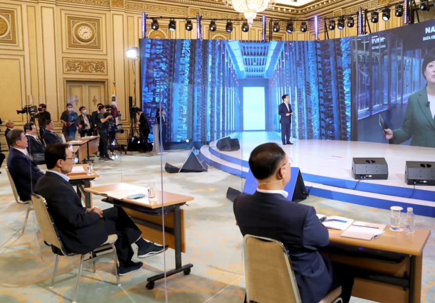 Hyundai's Chung, Naver's Han support 'New Deal'