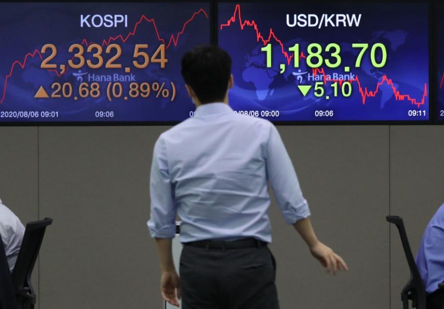 Seoul stocks open sharply higher on Wall Street gains