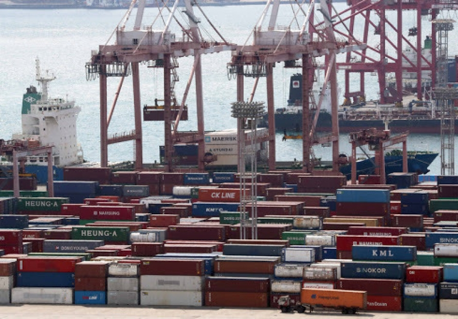S. Korea's H1 current account surplus narrows to 8-year low