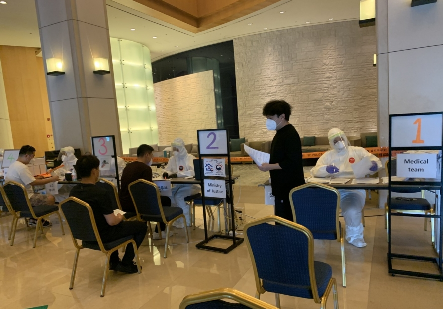 [From the scene] Korea's quarantine hotel is 'contagion-free'
