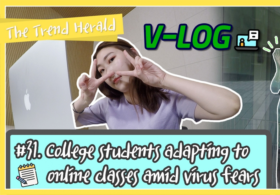 [Video] College students in Korea adapting to online classes amid virus fears