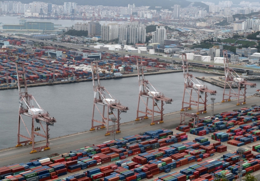 S. Korea's trade terms rise for 5th straight month in Aug.