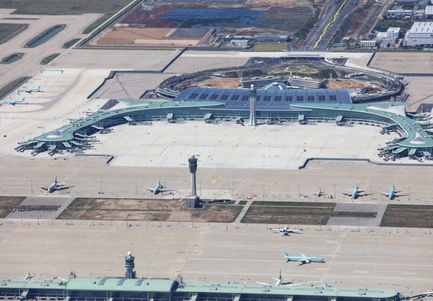 Two flights redirected from Incheon airport due to reported drone activity