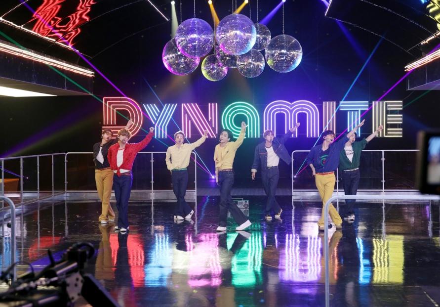 BTS' 'Dynamite' ranks No. 2 on Billboard singles chart