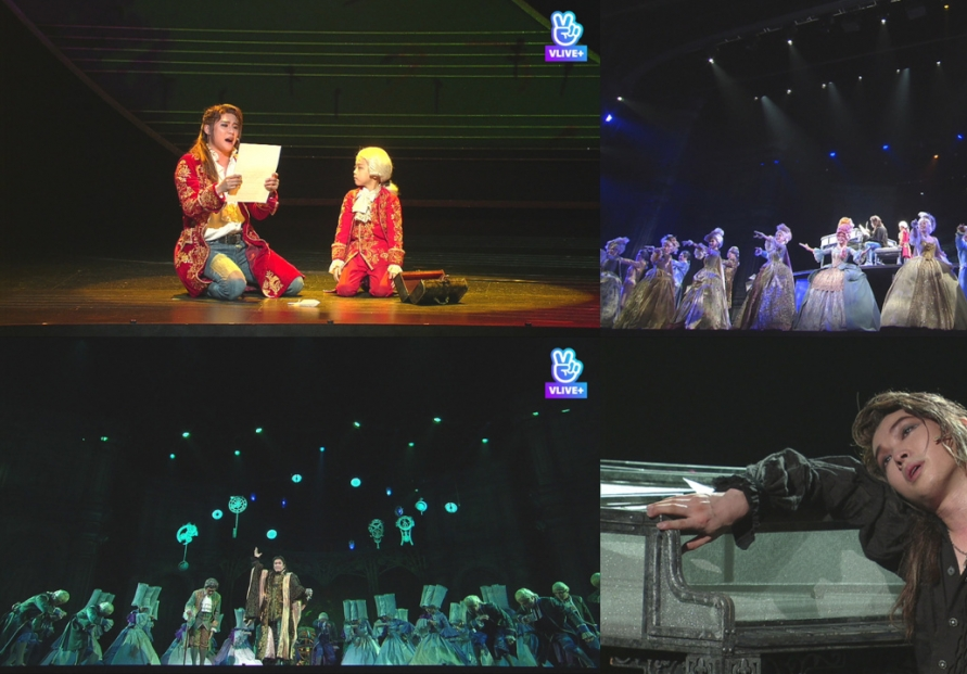 Musical 'Mozart!' viewed online by 15,000 paid audience