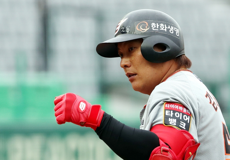KBO veteran Kim Tae-kyun retires after 18 seasons with Hanwha Eagles