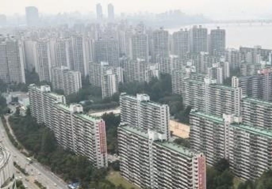 Apartment prices for average Koreans have soared since 2017